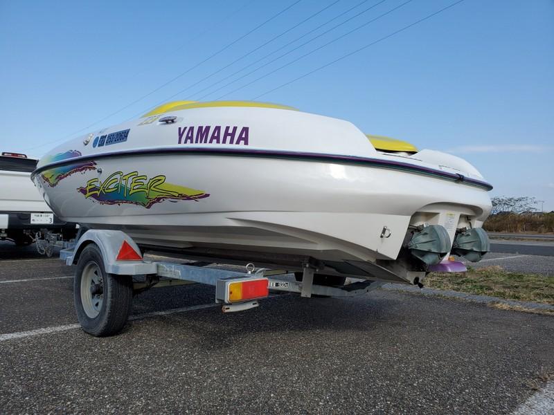 ヤマハ エキサイター220 ツインエンジンモデル