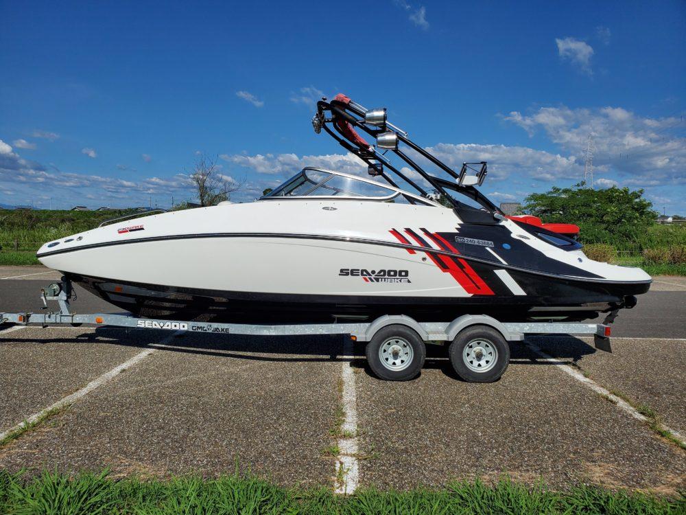 シードゥ 230WAKE 2012年ファイナルモデル【極上コンディション艇】