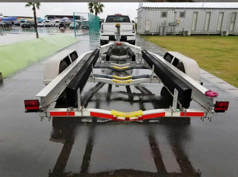 24~26フィートボート積載用 中古トレーラー [通関証明あり]