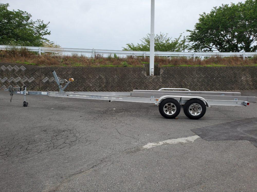 25~27フィートボート積載用 中古トレーラー [通関証明あり]